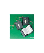 Plastic Bible Key Chains - $12.49