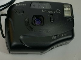 Vintage 1980's Canon Snappy Q Point and Shoot Camera w/ Case Untested  - $5.93