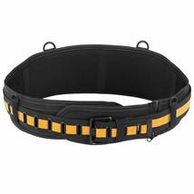 """Toughbuilt Padded Back Support Adjustable Length Tool Belt 32-48"""" Waist ... - $21.99"""