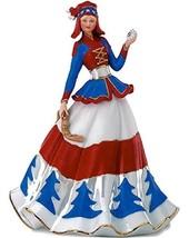Lenox Hannah The Lapland Snow Princess Bisque Porcelain Figurine - $165.00