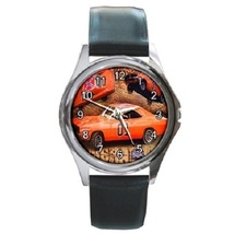 Dukes Of Hazzard General Lee Unisex Round Metal Watch Gift model 17464385 - $18.48 CAD