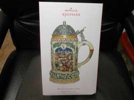 "Hallmark Keepsake ""Elf Festivities Beer Stein"" 2017 Ceramic/Metal Tablet... - $49.25"