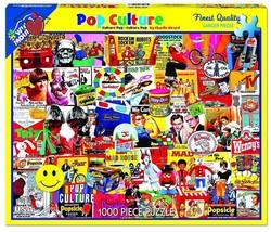 White Mountain Puzzles Pop Culture - 1000 Piece Jigsaw Puzzle - $18.36