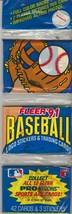 1991 Fleer Baseball Rack Pack - $1.24