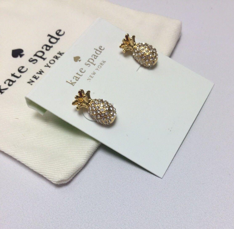 Kate Spade Birds The Word Stud  Earrings w// KS Dust Bag NEW