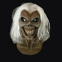 Loftus Trick Or Treat Studios Iron Maiden Killers Full Head Mask Grey Wh... - £77.13 GBP