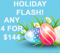 HOLIDAY SUN ONLY FLASH PICK ANY 4 FOR $144 BEST OFFERS MAGICK  - $144.00
