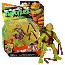 Year 2016 Teenage Mutant Ninja Turtles TMNT 5 Inch Figure SPITTIN' MICHE... - $34.99