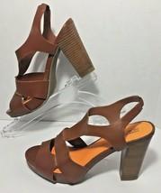 Kenneth Cole Reaction Dazel Me Brown Womens High Heels Sz 7 - $21.78