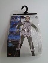Youth Kids Halloween Skeleton Full Body Costume Medium Size 4-6 Small Dress Up o - $14.69