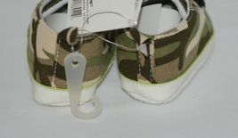 Ganz Ella Jackson Green Camo Infant Booties Shoes Size 0 to 12 Months image 4