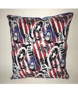 Captain America Pillow HANDMADE In USA Marvel Pillow Avengers Pillow - $9.99