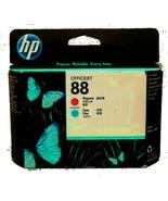 HP 88 Magenta And Cyan Printhead C9382A  Sealed Box exp sept 17 - $24.00
