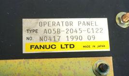 FANUC A05B-2045-C122 OPERATOR PANEL W/ A20B-1003-0040/02B BOARD, TH1346 METER image 3