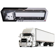 Mack Anthem Sleeper Cab with 53' Trailer White 1/64 Diecast Model by First Gear  - $84.95