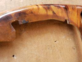 00-03 Jaguar XK8 XKR 8pc Wood Grain Dash Console Switch Trim Set image 6