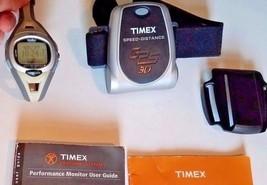 Timex Lady IronMan Watch Triathlon Bodylink System T5G311 with GPS function - $34.98