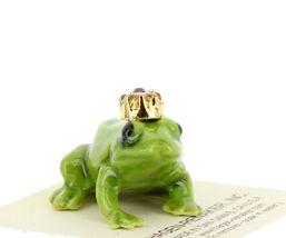 Birthstone Frog Prince June Simulated Alexandrite Miniatures by Hagen-Renaker image 6