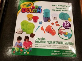 Crayola Modeling Dough Set - 15 Piece Farm Activity Pack - Comes with 3 ... - $15.67