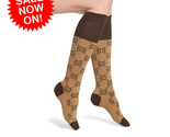 NEW GG! Cotton Socks Double G LOGO Knee-High CASUAL WOMEN SEXUAL FAST SHIPPING  - $284,70 MXN - $306,62 MXN