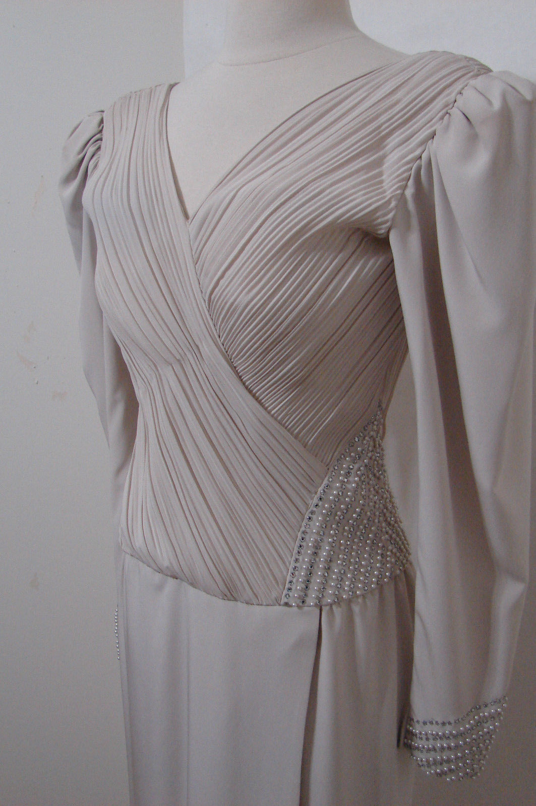 Rose Taft Couture Vintage Mob Champagne and 50 similar items