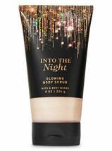 """Bath & Body Works """"INTO THE NIGHT"""" - Glowing Body Scrub 8 oz - £12.22 GBP"""