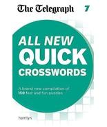 All New Quick Crosswordsquick Crosswords 7 (Telegraph Puzzle Books) The ... - $9.85