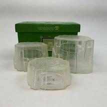 Dept 56 Snowbabies GLISTENING ICEBERGS 68707 Set of 3 Original Box  - $29.99