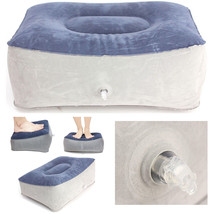Inflatable Stool Portable Footrest Foldable Chair Air Pillow Soft Travel... - $16.03 CAD