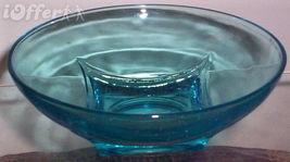 HAZEL ATLAS-- CAPRI COLONY CIRCULAR GLASS BOWL - $7.95