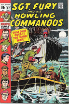 Sgt. Fury and His Howling Commandos Comic Book #87 Marvel 1971 VERY FINE - $14.98
