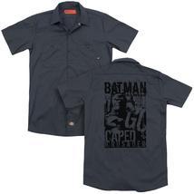 Batman - Caped Crusader(Back Print) Adult Work Shirt - $44.99+