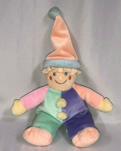 "Vintage Gymboree Pastel Beanbag Clown Gymbo 9"" or 12"" Stuffed Plush - $98.99"