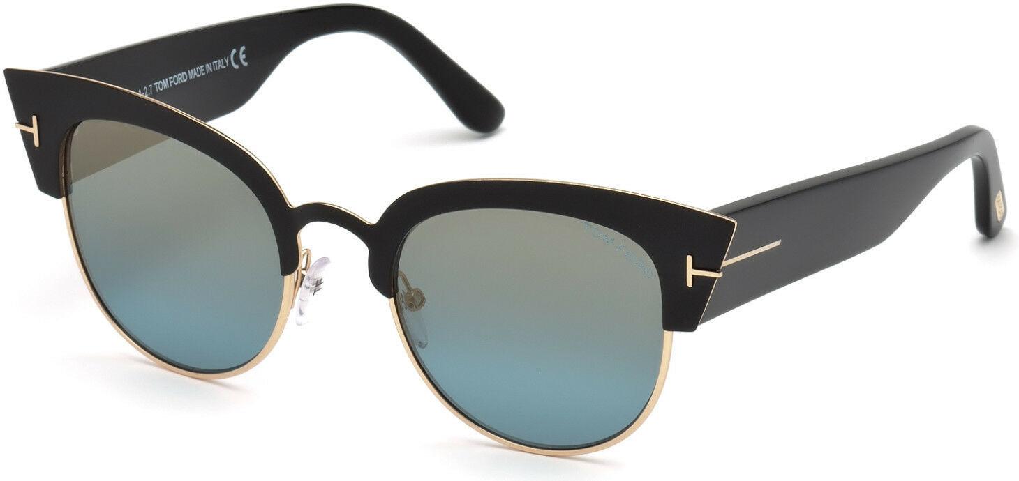 e26a87e30f Tom Ford FT0607 Alexandra-02 33072 05X Black   Other   Blu Mirror - £239.25  GBP