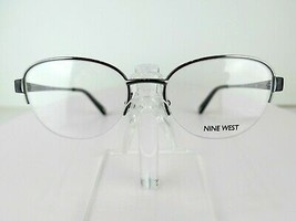 Nine West NW 1060 (035) Light Gunmetal  50 x 17 135 mm Eyeglass Frames - $64.30