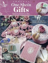 One Skein Gifts 13 Projects Crochet Annie's PATTERN/INSTRUCTIONS - $4.47