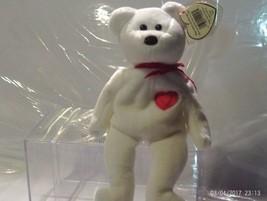 Ty Beanie Babies Valentino the White bear image 2