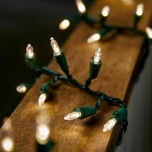 Philips 80ct LED Christmas Smooth Mini Garland String Lights Warm White NIB image 2