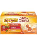 Emergen-C 1,000mg Vitamin C Dietary Immune Supplement, 90 ct (LIMIT 2) - $23.99