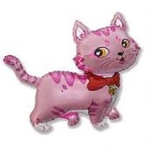 "PINK CAT Kitty Kitten Sweet 41"" Birthday Party Mylar Foil Decoration Bal... - €9,69 EUR"