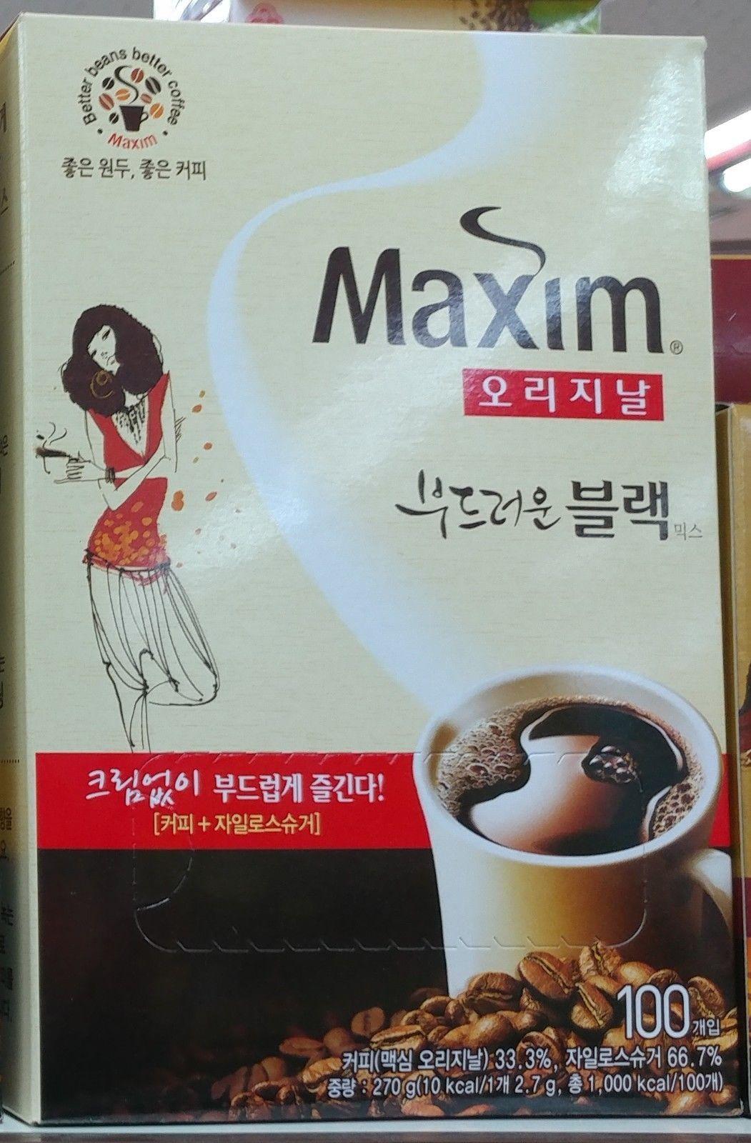 Korean Instant Coffee Maxim Original Soft and 50 similar items