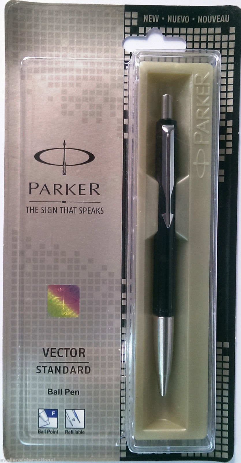 Parker Vector Standard  Ball Pen  Body Color Black