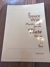 A Trevor Practice Book For The Flute Volume 1 Tone Ships N 24h - $21.76