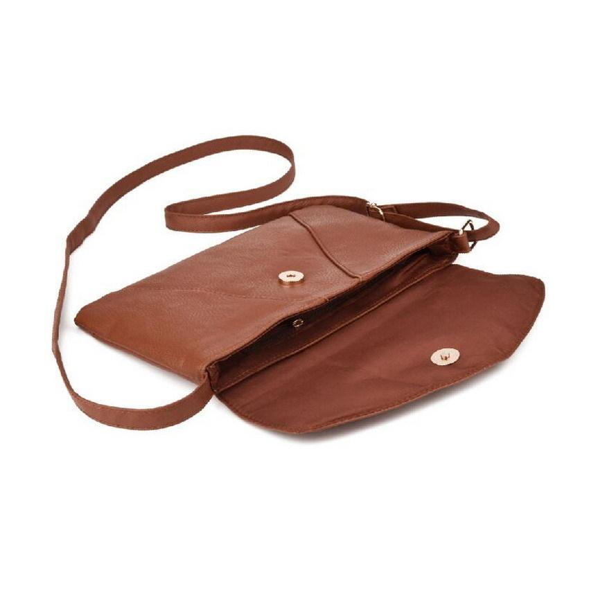 Womens Envelope Satchel Cross Body Shoulder Bags Vintage Handbags