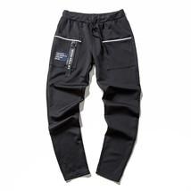 Socialism  New Men Joggers Sport Pants Casual Side Stripe Skinny Sweatpants Pant - $38.76