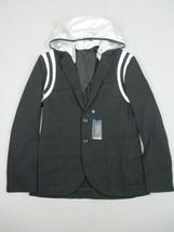 NEW Polo Ralph Lauren Blazer Jacket Mens Medium PWing 2 Hoodie Hooded Black - $168.09