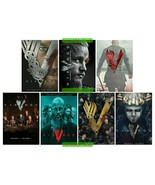 Vikings Complete Series Seasons 1 2 3 4 & 5 DVD Collection Set New Seale... - $49.00
