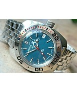 Russian Mechanical Automatic Wrist Watch Vostok Amphibian Diver Scuba 71... - $72.52