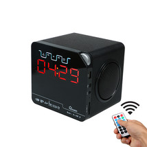 Klivien Bluetooth Speaker Portable Wireless FM Radio with Alarm Clock LE... - $67.10