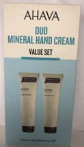 AHAVA Duo Active Dead Sea Minerals Hand Cream 2 x 150 ML - Value Set, 5.1 fl. oz - $63.58